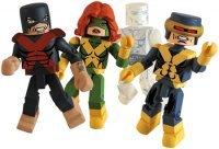 Marvel Minimates Exclusive 4Pack XFactor Cyclops, Jean Grey, Iceman & Beast