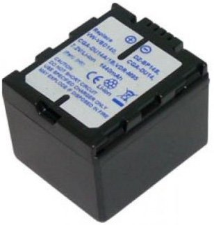 7.20V (Compatible with 7.40V),1440mAh,Li-ion,Hi-quality Replacement Camcorder Battery for PANASONIC NV-MX500A, PANASONIC NV-GS, PV-GS, SDR-H, VDR-D, VDR-M Series, Compatible Part Numbers: CGA-DU06, CGA-DU06A/1B, CGA-DU07, CGA-DU07A/1B, CGA-DU07E/1B, CGA-DU12, CGA-DU12A/1B, CGA-DU14, CGA-DU14A, CGA-DU14A/1B, CGA-DU14E/1B, CGR-DU06, CGR-DU07, VW-VBD070, VW-VBD120-H, VW-VBD140