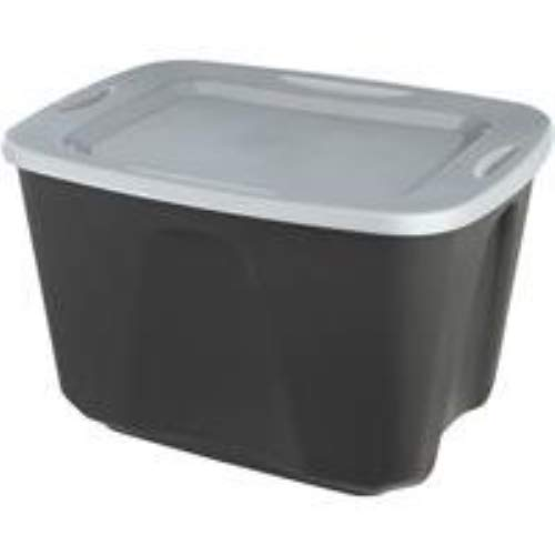 HOME PROD STORAGE 6618BKTS.128 Tote 18 Gallon Black