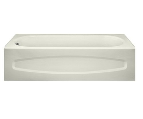 (American Standard 255.21202 New Salem Integral Apron Bathing Pool, 5-Feet by 30-Inch, White)