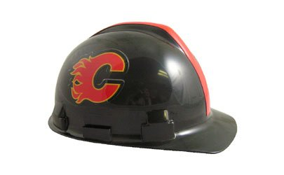 WinCraft NHL 2409311 Calgary Flames Packaged Hard Hat 1