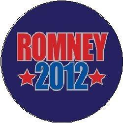 ROMNEY 2012 Political Pinback Button 1.25