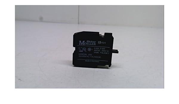 Uimp: 6Kv Ek01 Contact Block Klockner Moeller Ek01 Contact Block