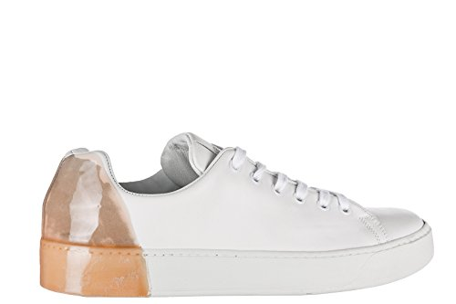 Sneakers Uomo Pelle Scarpe PREMIATA in Bianco Nuove HqxUR