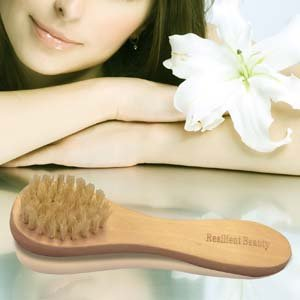 FACE CLEANSING BRUSH SET (3 Wooden Brushes) - BEST way to Scrub, Wash, Exfoliate Deep Pores for Clean Healthy Skin | 100% Organic Natural Bristles | Perfect for Wet or Dry Brushing For Men & Women