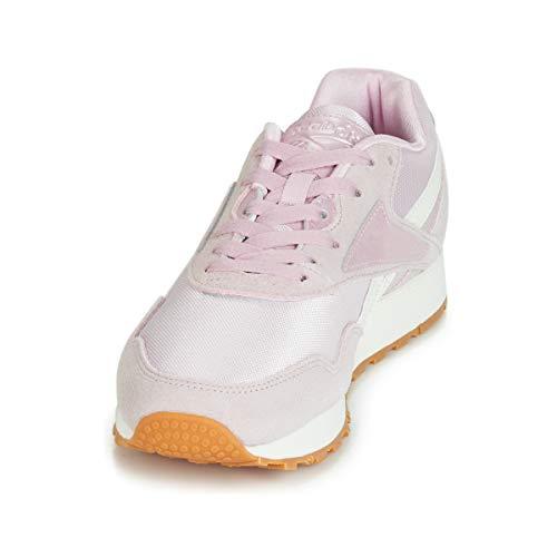 Reebok Rapide Glitz Met Ashen Lilac Chalk Sneaker gZpw0qf