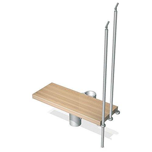 Modular Riser - ARKE Kompact 29 in. Grey Modular Staircase Add Riser