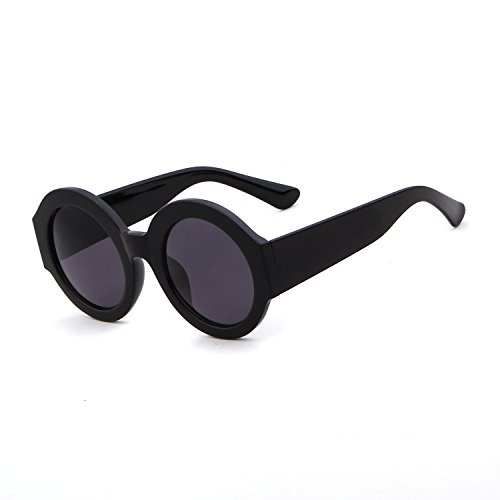 Round Frame Acetate Sunglasses Clout Goggles with Round Lens UV - Acetate Sunglasses