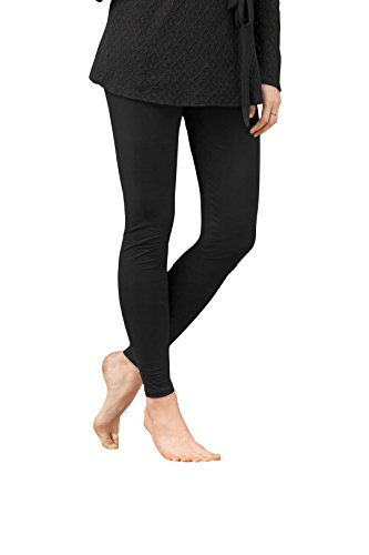 Vanilla Soft Viscose Leggings for Women. Handmade in Europe Available in Black and Navy (Best Looking Women In Europe)