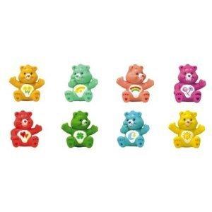 Care Bears Figures Set -- 8 Vending Machine Toys (Figurines Bears Care)
