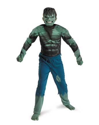 Disguise Marvel Hulk Classic Boys Costume, Small/4-6