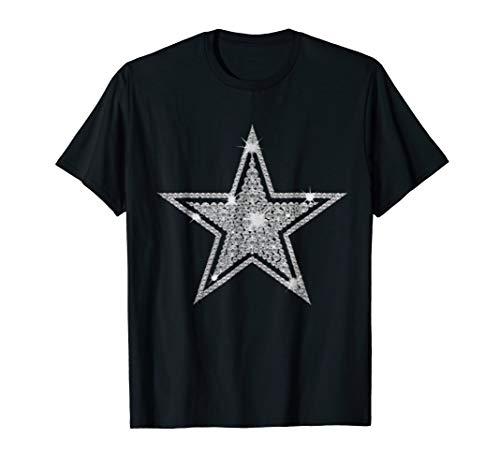 Star _Cowboy Diamond Christmas TShirt -