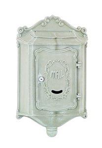 (Amco Mailboxes WM-209BCT Colonial Aluminum Wallmount Mailbox, Grey )