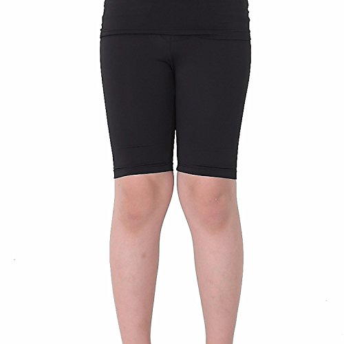 Kids Compression Shorts Underwear Youth Boys Spandex Base Layer Bottom Pants FK Black M ()