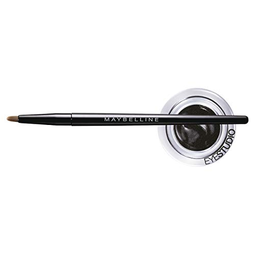 Maybelline New York Makeup Eyestudio Lasting Drama Gel Eye Liner, Blackest Black, Waterproof, 0.106...