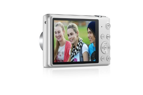 "Samsung ST150F 16.2MP Smart WiFi Digital Camera with 5x Optical Zoom and 3.0"" LCD Screen (White) (OLD MODEL)"