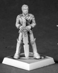 Andoren miniature of the Grim Reaper miniature 60050 Pathfinder series Eagle Knight