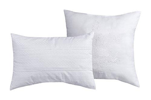 Baltic Linen Pillow Set White (Pillow Toss Lace)