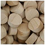 WIDGETCO 1/2'' Maple Wood Plugs, Face Grain