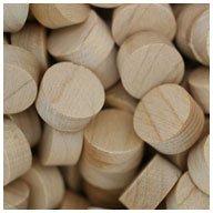 WIDGETCO 1/2'' Maple Wood Plugs, Face Grain