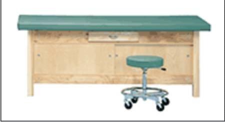 (McKesson Treatment Table Fixed Height Slate Blue)