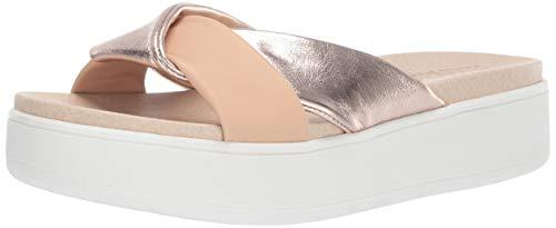 Aerosoles Women's Martha Stewart Ceramic Sport Sandal, Tan Combo, 9 M US