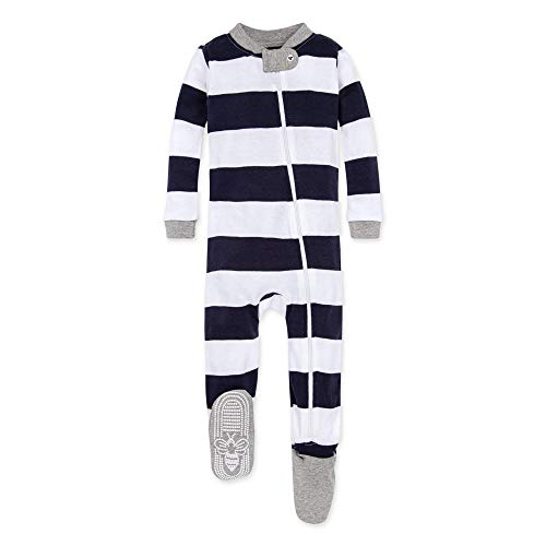 Burt's Bees Baby unisex baby Pajamas, Zip-front