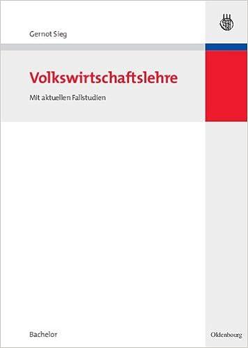 GERNOT SIEG VOLKSWIRTSCHAFTSLEHRE EBOOK
