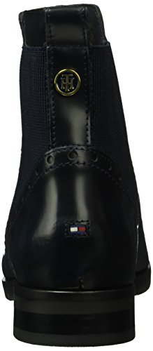 Tommy Hilfiger B1285erry 4a, Zapatillas de Estar por Casa para Mujer Azul - Blau (Midnight 403)
