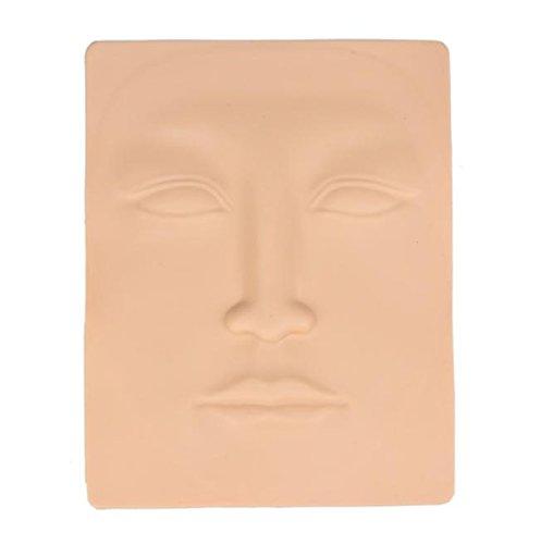Practice Makeup Skin,Vovotrade 3D Permanent Makeup Lips Eyebrow Face Practice Skin (Face) -