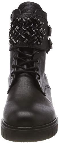 deko Noir Schwarz Comfort Sport 37 Gabor Shoes Motardes Femme Bottes Micro ZYy08F6c