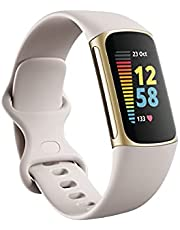Fitbit Charge 5 + Fitbit Premium Advanced Health and Fitness Tracker with EDA and Stress Management tools, Temperature Tracking and Heart Insights