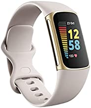 Charge 5 Advanced Fitness & Health Tracker with Built-in GPS, Stress Management T