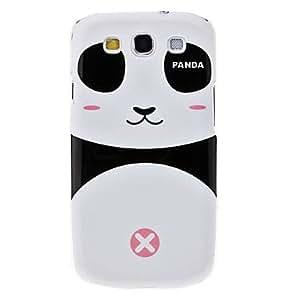 Cute Panda Pattern Hard Case for Samsung Galaxy S3 I9300