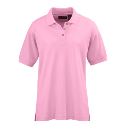 (Ultraclub Ladies Whisper Pique Polo Shirts Pink 1 Each (Extra Large))