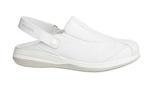 Oxypas Iris, Women's Safety Shoes, White (Wht), 6.5 UK (40 EU)