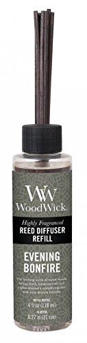 WoodWick EVENING BONFIRE 4 oz Refill for Reed or Spill Proof Diffusers