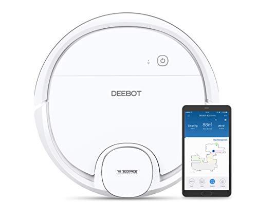 Ecovacs Deebot OZMO 900 – Robot Aspirador 4 en 1: barre, aspira, pasa mopa y friega, mapeo inteligente láser, compatible…