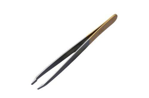 Dovo Tweezers Slanted Tip Stainless Steel - 3 ()