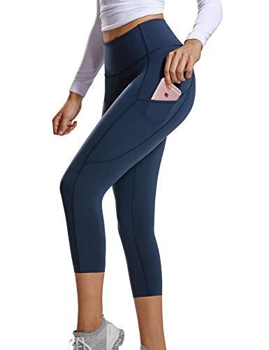 71136db72d144 CRZ YOGA Women s Naked Feeling High-Rise 7 8 Tight Training Yoga Leggings  with