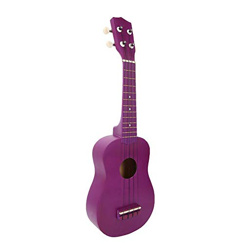 Used, Wood Ukulele, 21inch Solid Color Portable Ukulele 4 for sale  Delivered anywhere in Canada