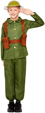 Smiffys – Disfraz infantil de soldado 47744L, Primera Guerra ...