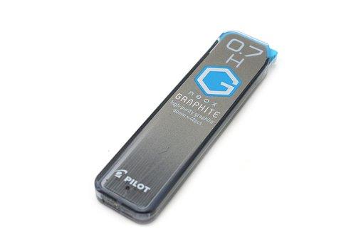 Pilot Mechanical Pencil Lead Neox Graphite 0.7mm, H, 40 Leads (HRF7G-20-H)