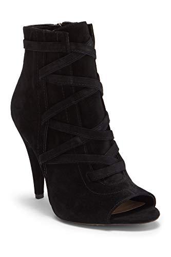 Vince Camuto Women's Aranda Ankle Boot Black 5.5 Medium US