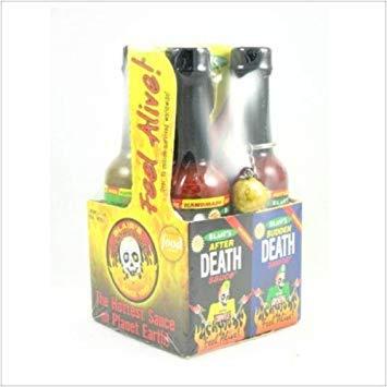(Blair's Death Sauce Minis 4 pack Hot Sauce)