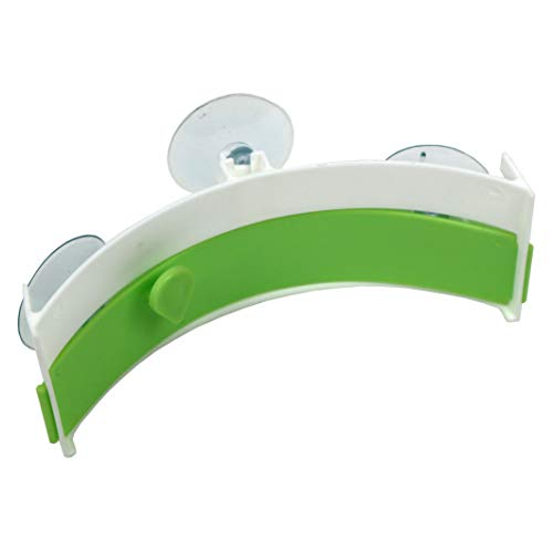 (Sink Magic Clip Food Waste Dispose Bag Clip With Suction Cups Sink holder (Green))