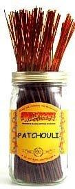 1 X Patchouli - 100 Wildberry Incense (100 Incense Stick)