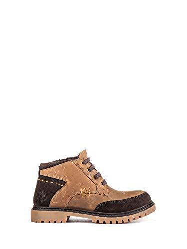 Enfant M55 Brun Lumberjack Talons 001 34 à Boots SB33503 qTOYHP