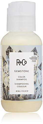 R+Co Gemstone Color Shampoo Travel, White, 2 Oz.