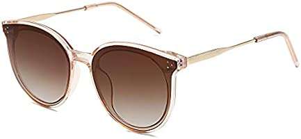 SOJOS Retro Round Sunglasses for Women Oversized Mirrored Glasses DOLPHIN SJ2068